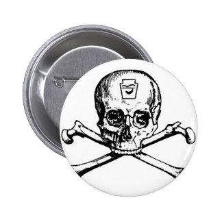 Cráneo y huesos - sociedad secreta pins