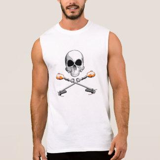 Cráneo y mala hierba Wackers Camiseta Sin Mangas