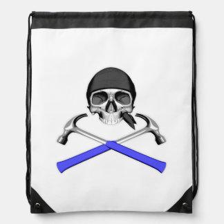 Cráneo y martillos v2 mochila
