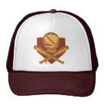 Cráneo y palos cruzados 513 gorras de camionero