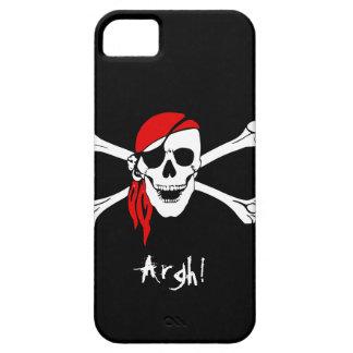 Cráneo y pirata de los huesos de la cruz iPhone 5 funda
