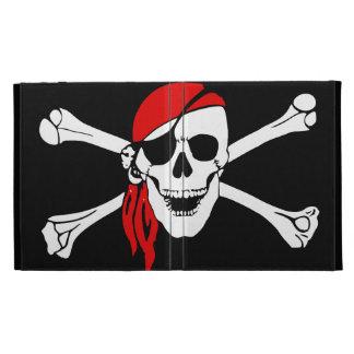 Cráneo y pirata de los huesos de la cruz