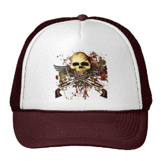 Cráneo y Seis-Pistolas Gorros