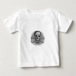Cráneo y sociedad secreta Illuminati de los huesos Camisetas
