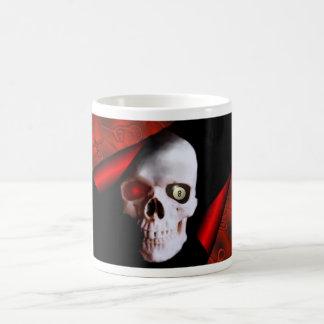 Cráneo y taza 8ball