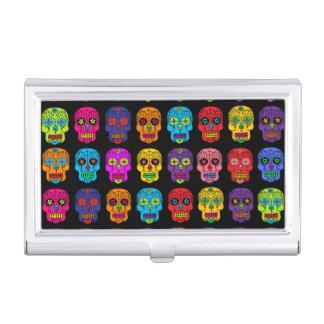 Cráneos adaptables del azúcar caja de tarjetas de presentación