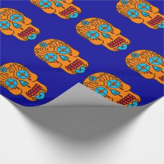 Cráneos adaptables del azúcar papel de regalo