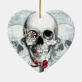 Cráneos americana del lollipop adornos de navidad