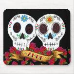 "Cráneos ""Amor"" Mousepad del amor"