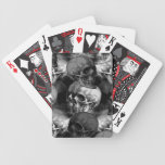 cráneos baraja cartas de poker