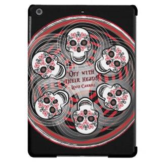 Cráneos célticos de giro funda para iPad air