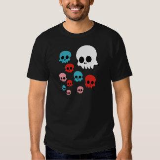 Cráneos coloridos camisas