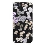 Cráneos coloridos iPhone 5 coberturas