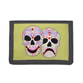 Cráneos de la Comedia-Tragedia de Halloween DOTD