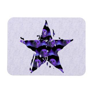 Cráneos de la estrella imán de vinilo