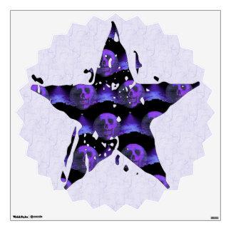 Cráneos de la estrella vinilo