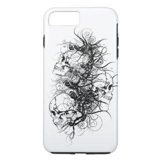 Cráneos de la fantasía funda iPhone 7 plus