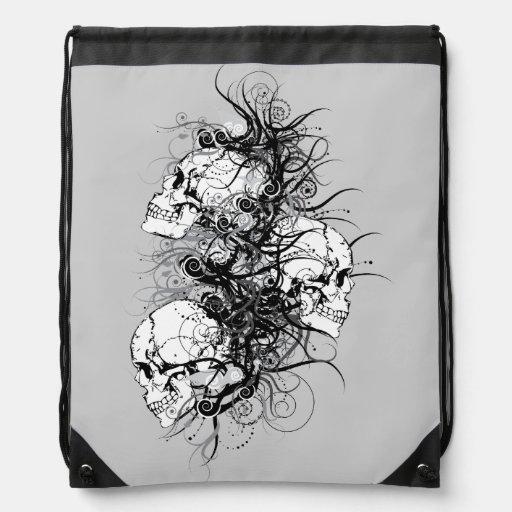 Cráneos de la fantasía mochilas