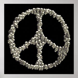 Cráneos de la paz posters