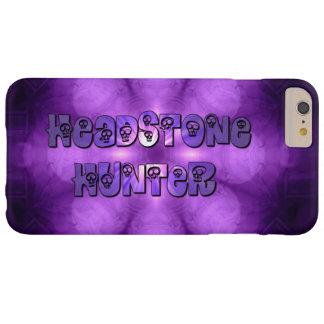 Cráneos de la púrpura del cazador de la lápida funda barely there iPhone 6 plus