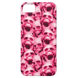 Cráneos de las rosas fuertes funda para iPhone SE/5/5s