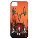 Cráneos de los ciervos iPhone 5 cárcasa