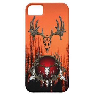 Cráneos de los ciervos iPhone 5 fundas