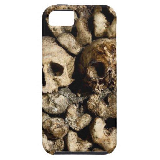 Cráneos de París iPhone 5 Case-Mate Cárcasa