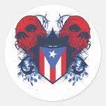 Cráneos de Puerto Rico Etiquetas