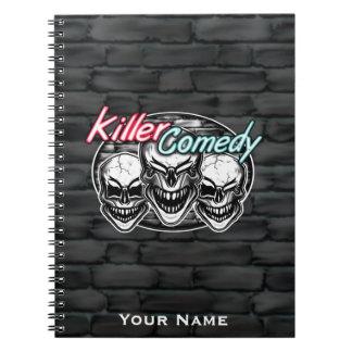 Cráneos de risa: Comedia del asesino Cuaderno