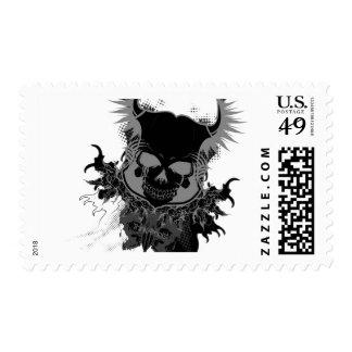 Cráneos de T|A Sellos Postales