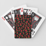 Cráneos decorativos del vintage adaptable barajas de cartas