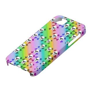Cráneos del arco iris iPhone 5 carcasas