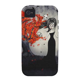 Cráneos del azúcar del chica del zombi que hacen j Case-Mate iPhone 4 carcasas