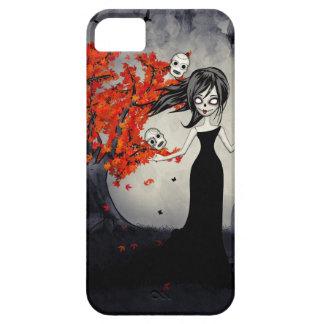 Cráneos del azúcar del chica del zombi que hacen j iPhone 5 Case-Mate cárcasa