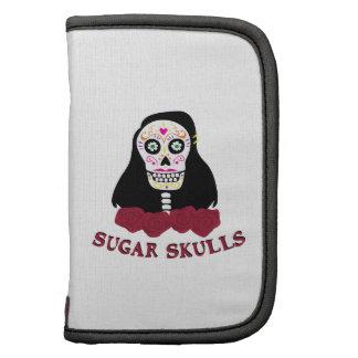 Cráneos del azúcar organizadores