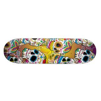 Cráneos del azúcar tablas de skate