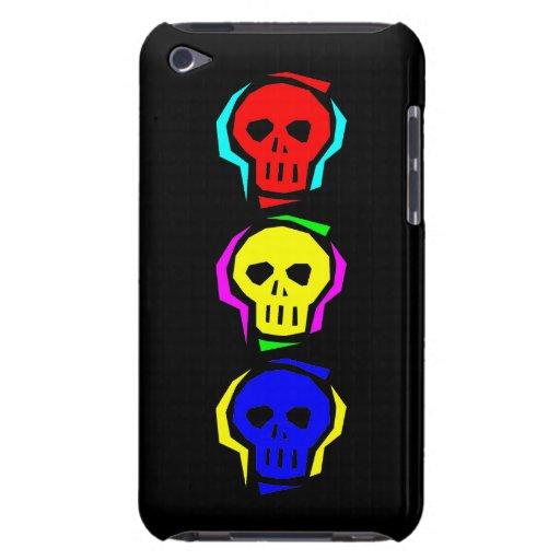 Cráneos del color primario Case-Mate iPod touch cárcasas