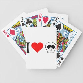 cráneos del corazón i cartas de juego