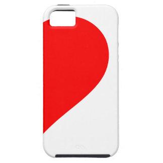 cráneos del corazón i iPhone 5 cárcasa