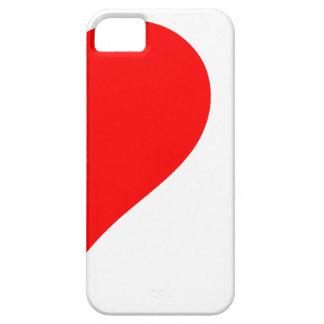 cráneos del corazón i iPhone 5 Case-Mate carcasa