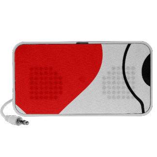 cráneos del corazón i iPod altavoz
