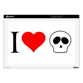 cráneos del corazón i portátil skins