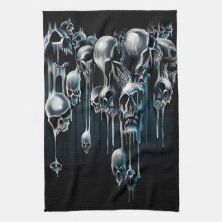 Cráneos del goteo toallas