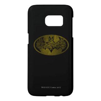 Cráneos del símbolo el | de Batman en logotipo del Funda Samsung Galaxy S7