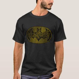 Cráneos del símbolo el | de Batman en logotipo del Playera