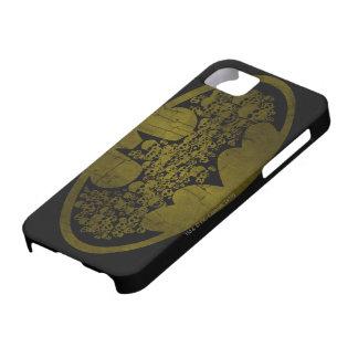 Cráneos en símbolo del palo iPhone 5 carcasas