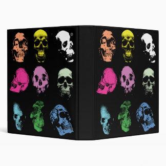 """Cráneos espeluznantes de Fluo Carpeta 1"""""""