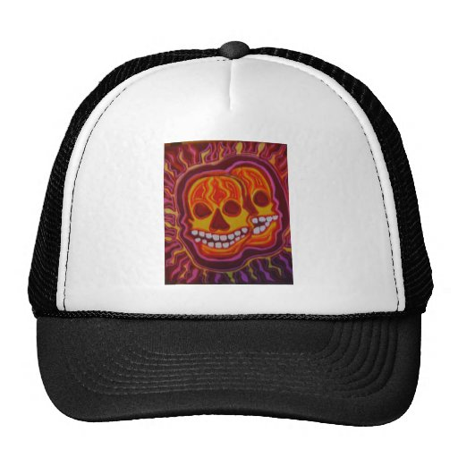 Cráneos estupendos de Halloween Gorros