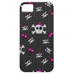 Cráneos femeninos iPhone 5 Case-Mate protector